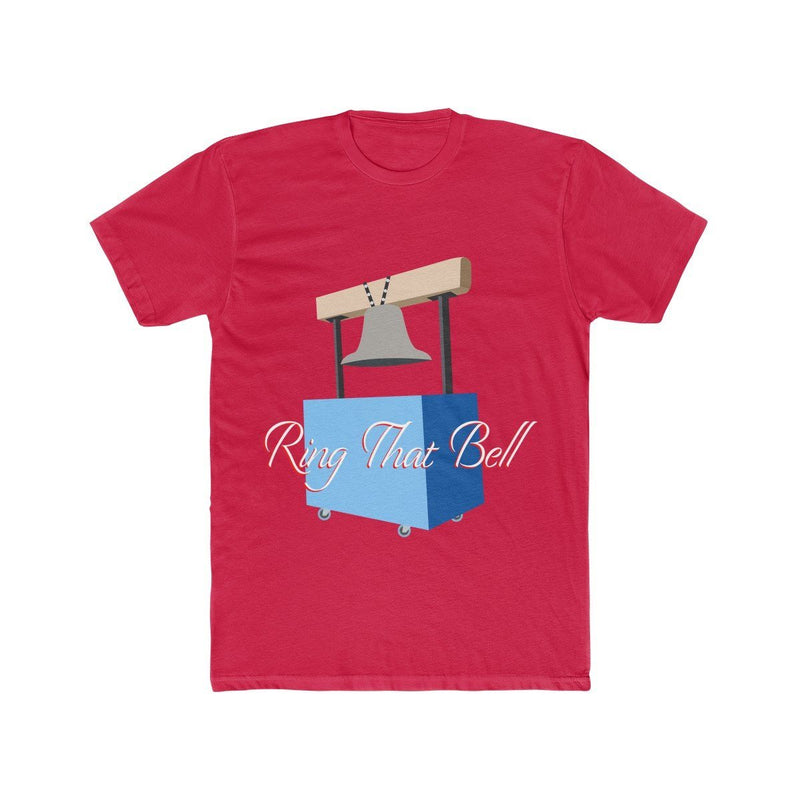 Ring the Bell (Basketball) T-Shirt Phan Tees Solid Red S