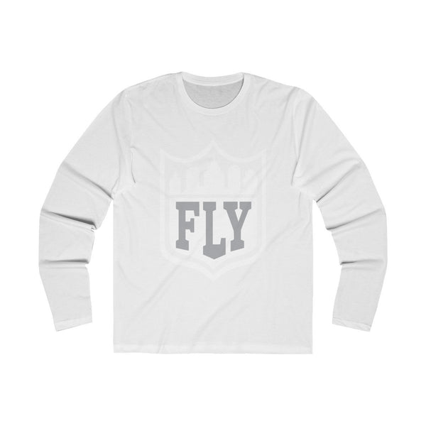 City FLY (Long Sleeve) Long-sleeve Printify Solid White S