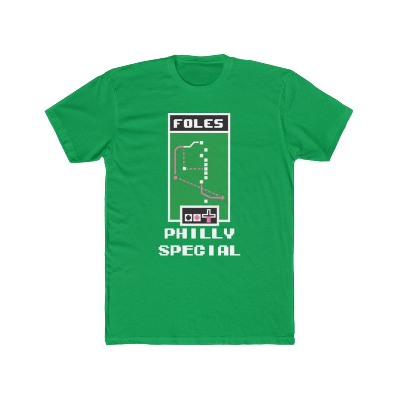 Philly Special T-Shirt Phan Tees Solid Kelly Green XS
