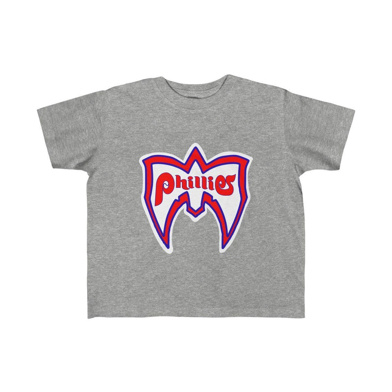 Ultimate Phillies Fan (Toddler) Kids clothes Phan Tees 5T-6T Heather