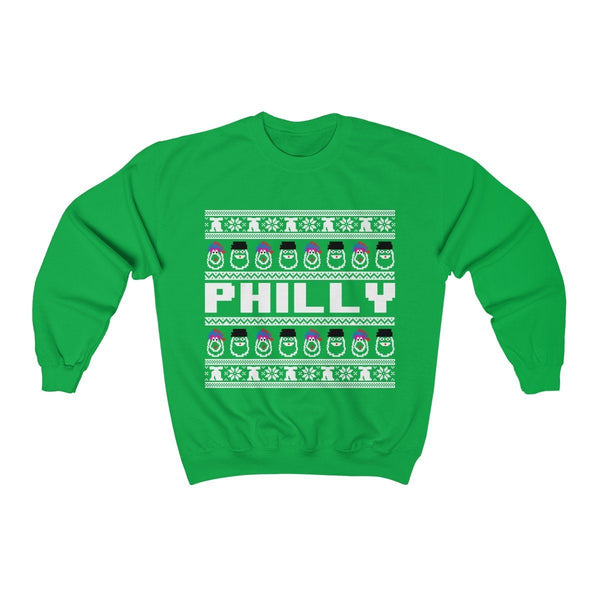 Ugly Sweatshirt Sweatshirt Printify Irish Green L