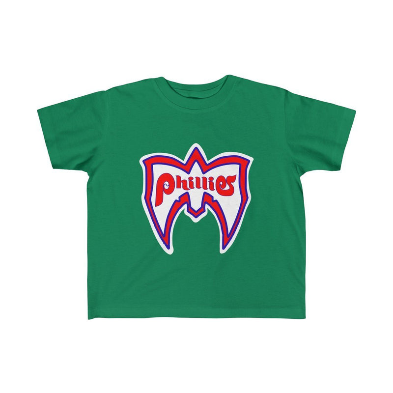 Ultimate Phillies Fan (Toddler) Kids clothes Phan Tees 5T-6T Kelly