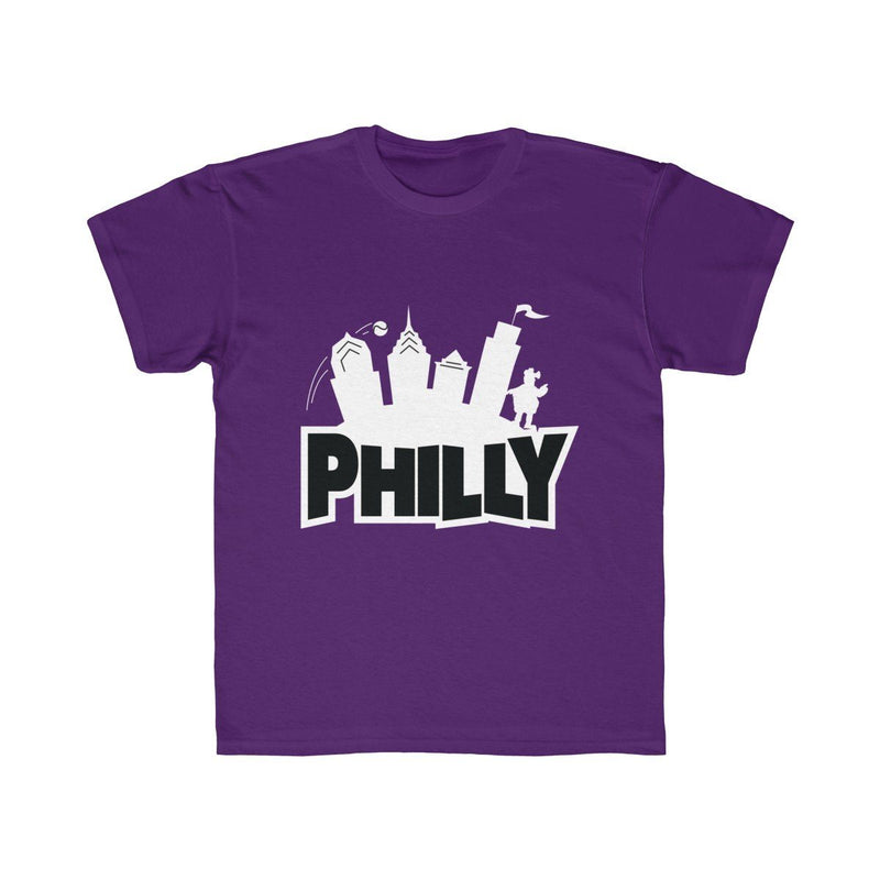 Fortnite Philly (Youth) Kids clothes Printify Purple XS