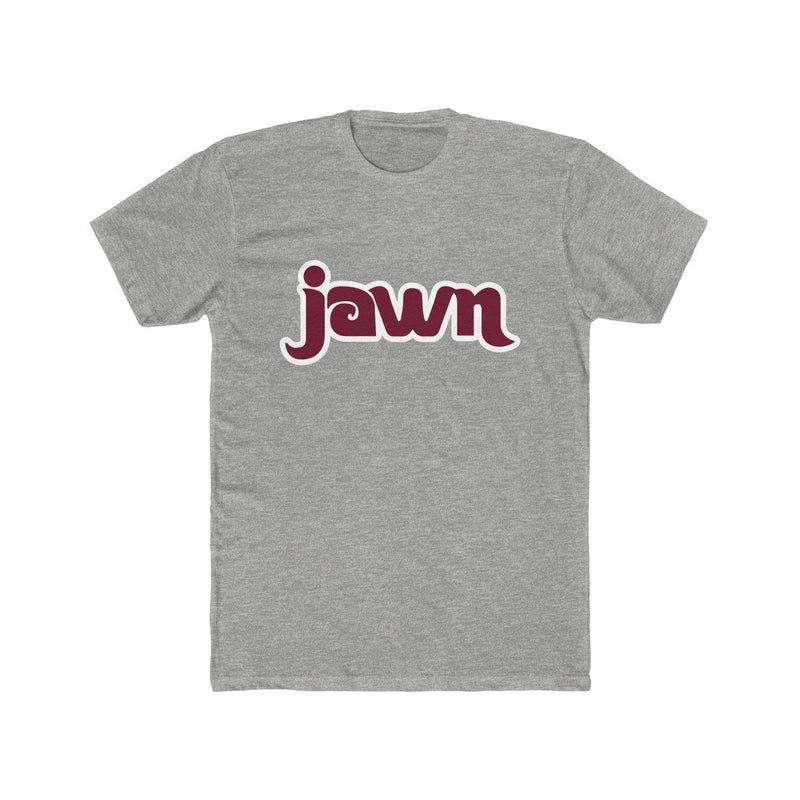Retro JAWN T-Shirt Printify Heather Grey XS