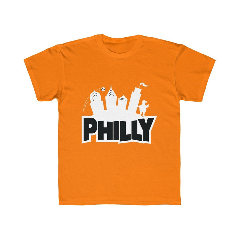 Fortnite Philly (Youth) Kids clothes Printify Tangerine Orange XS