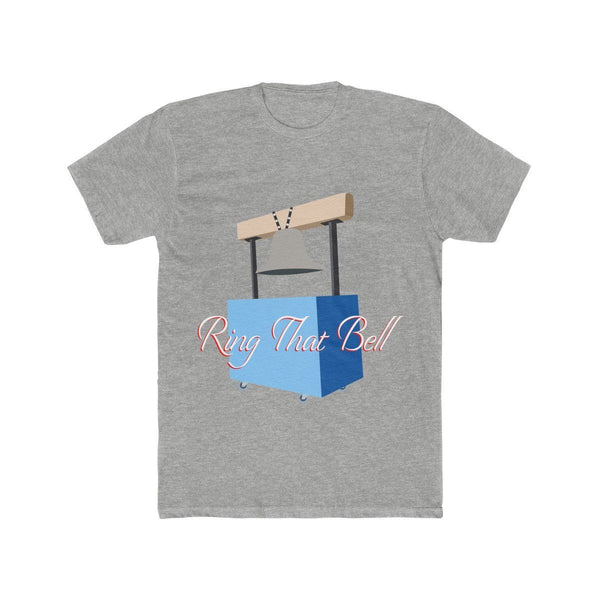 Ring the Bell (Basketball) T-Shirt Phan Tees Heather Grey L