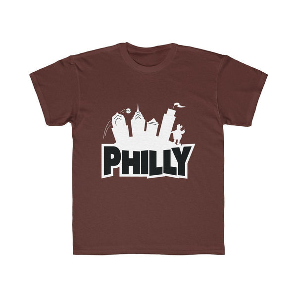 Fortnite Philly (Youth) Kids clothes Printify Maroon XS