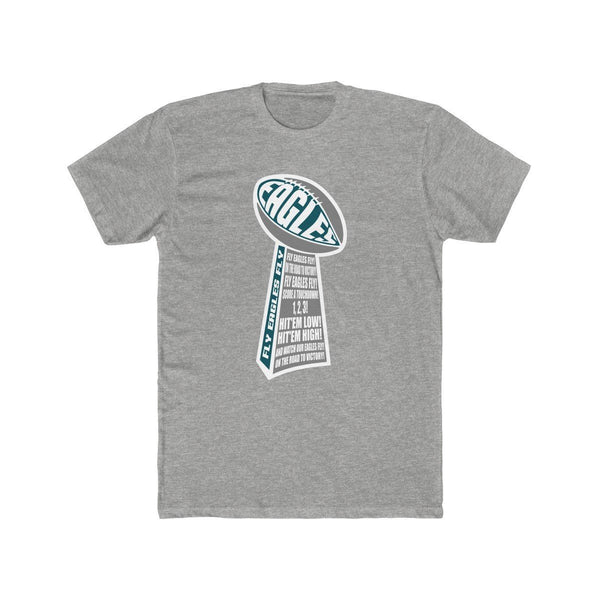 Eagles Trophy T-Shirt Phan Tees Heather Grey XS
