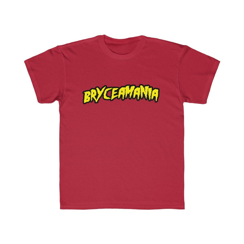 Bryceamania (Youth) Kids clothes Printify Red XS