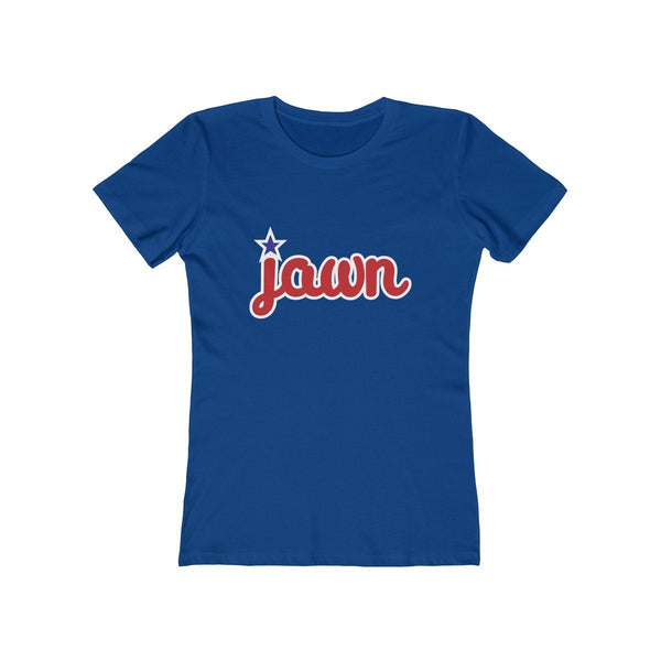 Philly Jawn (W) T-Shirt Printify Solid Royal XS