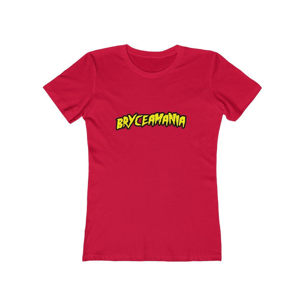 Bryceamania T-Shirt Phan Tees Solid Red XS