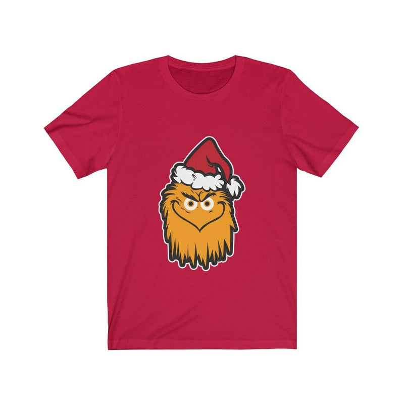 The Grit That Stole Christmas T-Shirt Printify Red XS