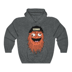 Getting GRITTY With It Hoodie Hoodie Printify Dark Heather L