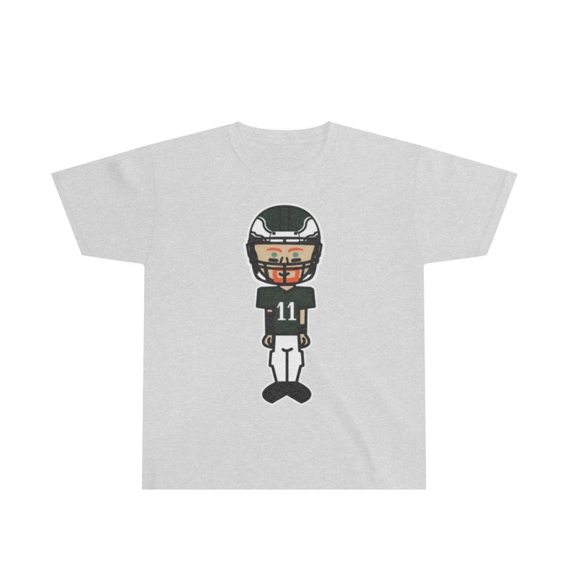 Wentz Bobblehead (youth) Kids clothes Printify XS Sport Grey