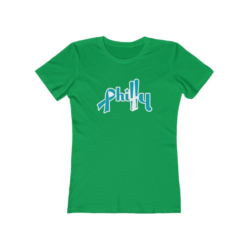 Philly Bats - Cancer Support T-Shirt Printify Solid Kelly Green XS