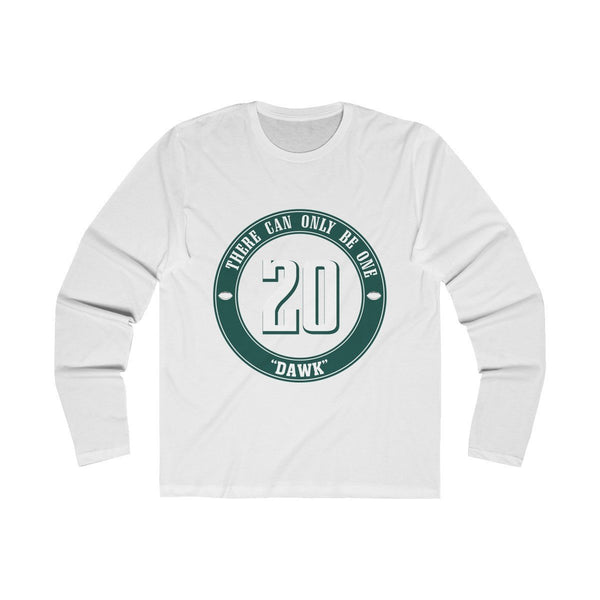 DAWK (Long Sleeve) Long-sleeve Printify Solid White S