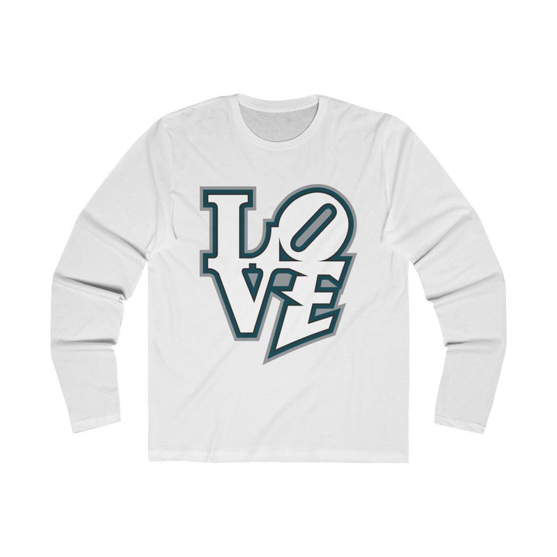 Modern LOVE (Long Sleeve) Long-sleeve Printify Solid White S