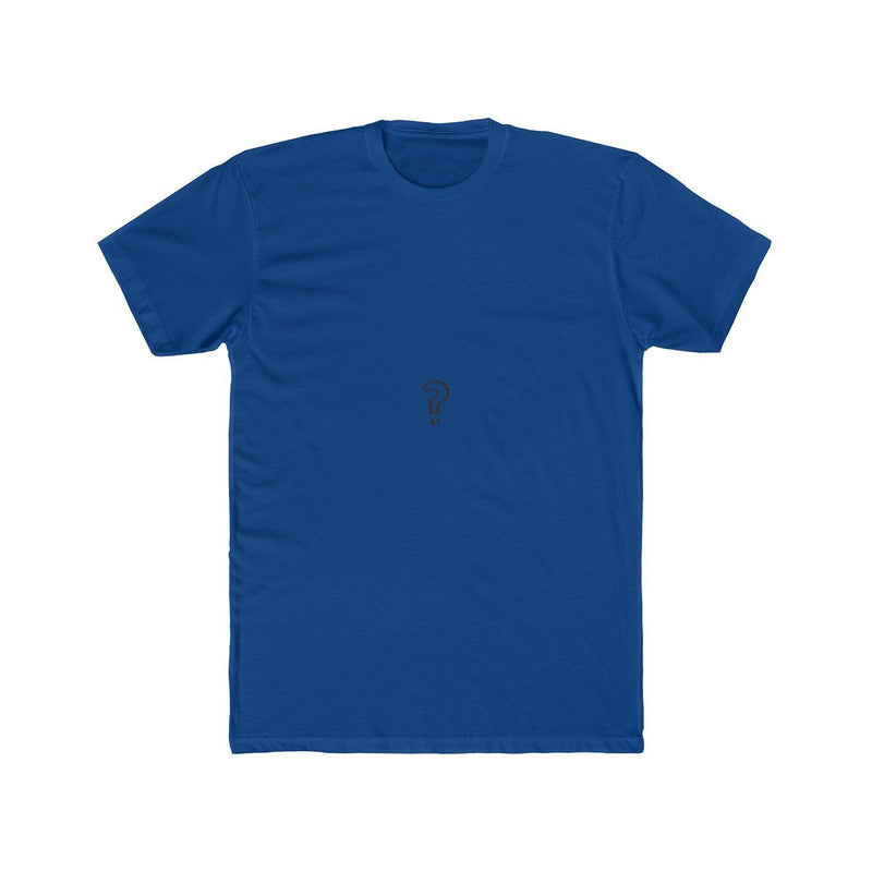 Mystery Tee T-Shirt PhanTees Solid Royal XS