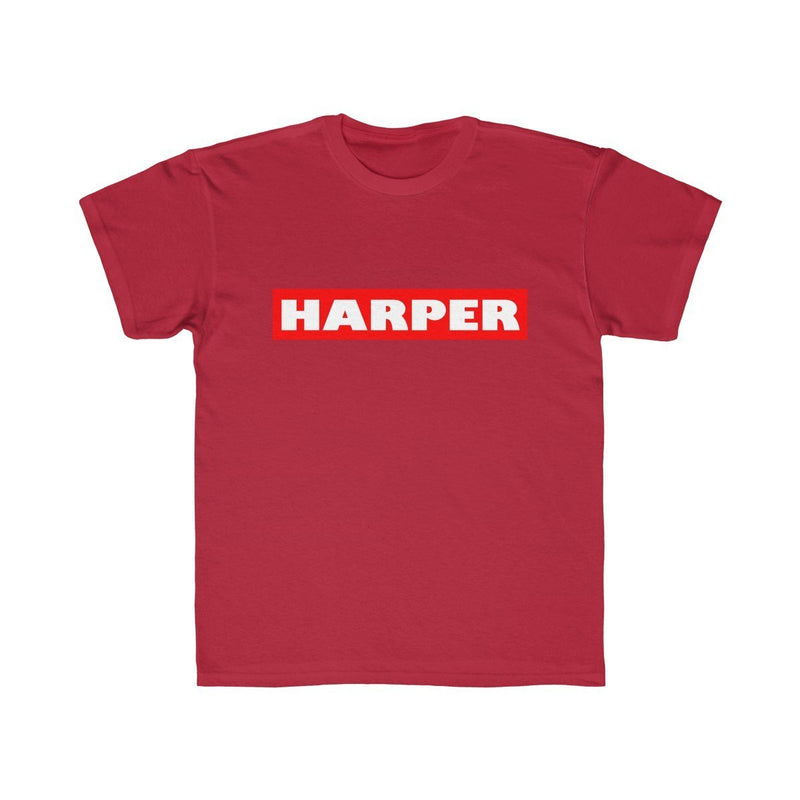 Harper (Youth) Kids clothes Printify Red XS