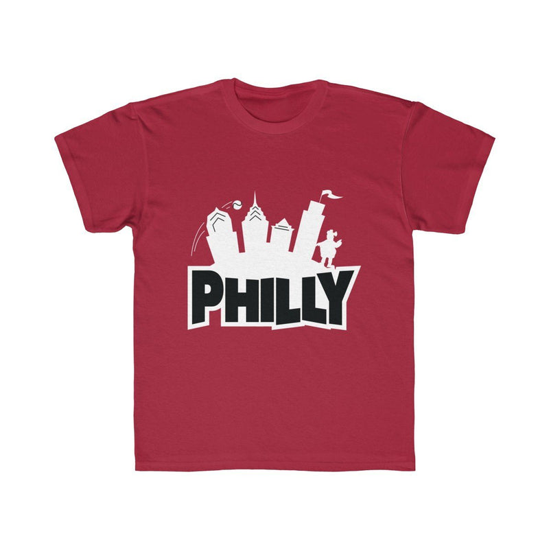 Fortnite Philly (Youth) Kids clothes Printify Cardinal XS
