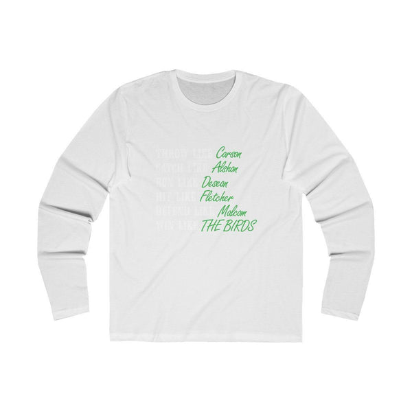 LIKE (Long Sleeve) Long-sleeve Printify Solid White S