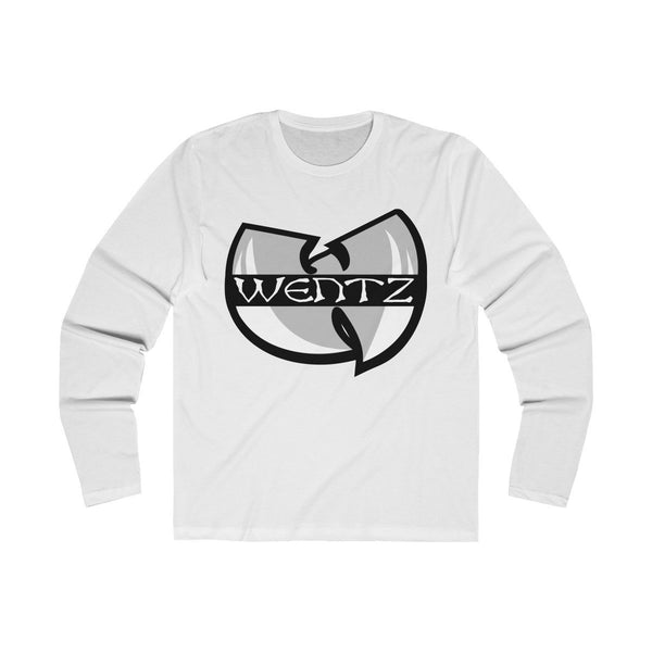 Wu Wentz (Long Sleeve) Long-sleeve Printify Solid White S