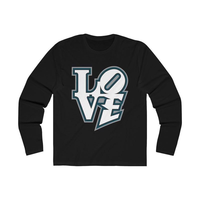 Modern LOVE (Long Sleeve) Long-sleeve Printify Solid Black S