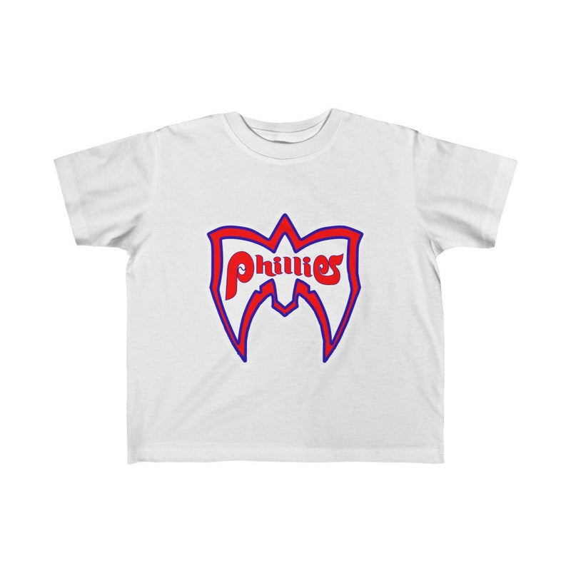 Ultimate Phillies Fan (Toddler) Kids clothes Phan Tees 4T White