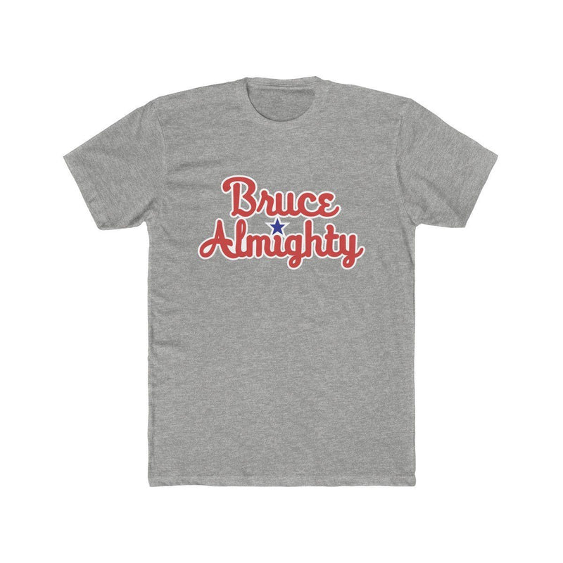 Bruce Almighty T-Shirt Phan Tees Heather Grey L