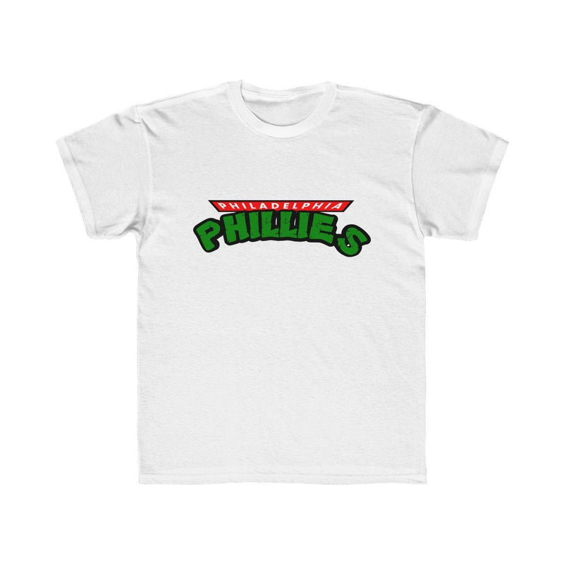 Turtles Phillies (Youth) Kids clothes Printify White L