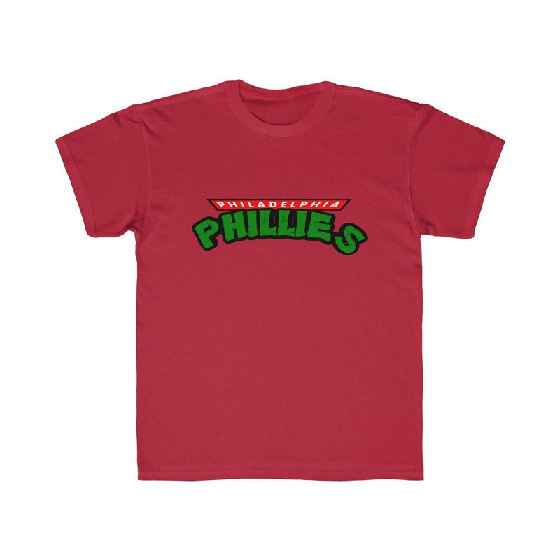 Turtles Phillies (Youth) Kids clothes Printify Red XS