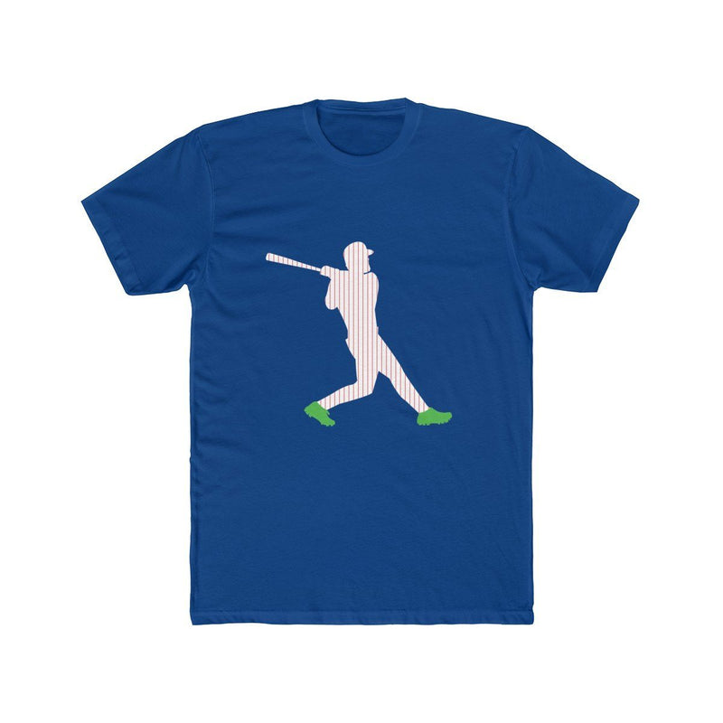 Harper Green Cleats T-Shirt Phan Tees Solid Royal XS