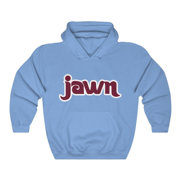 Retro JAWN Hooded Sweatshirt Hoodie Printify Carolina Blue L