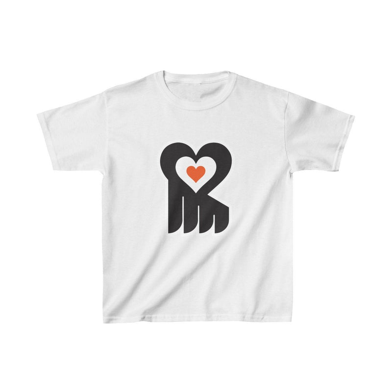 Hockey Heart (Youth) Kids clothes Printify XS White