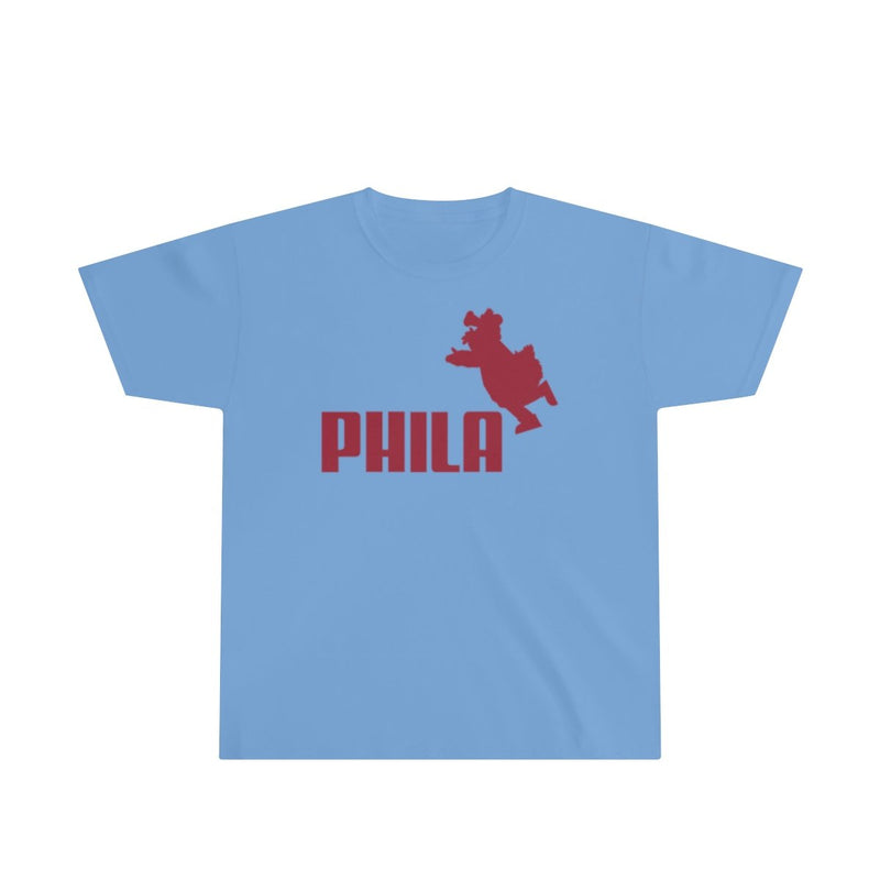 PHIL Phanatic (Youth) Kids clothes Printify L Carolina Blue