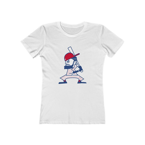 Fightin Harper (W) T-Shirt Phan Tees Solid White L
