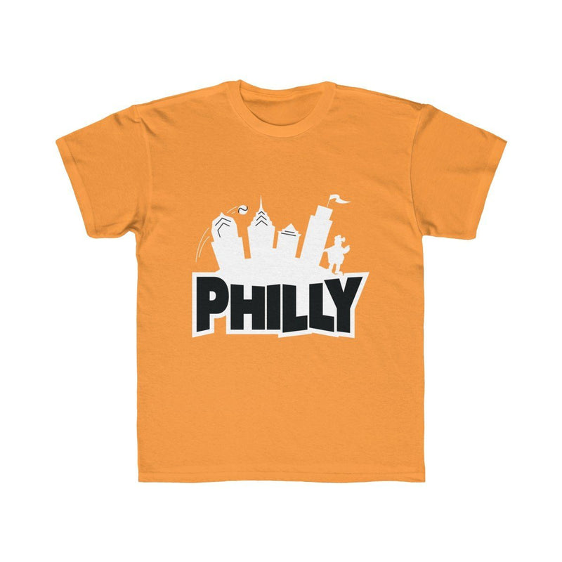 Fortnite Philly (Youth) Kids clothes Printify Orange XS