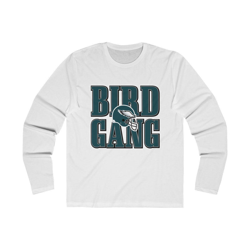 Bird Gang (Long Sleeve) Long-sleeve Printify Solid White S