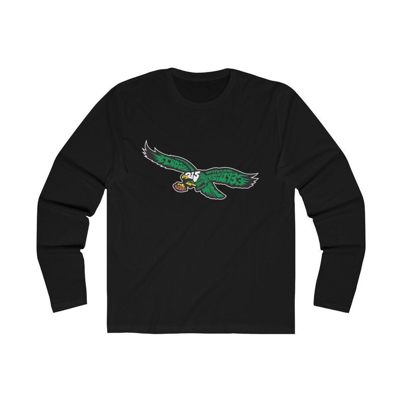 Eagles Words (Long Sleeve) Long-sleeve Printify Solid Black S