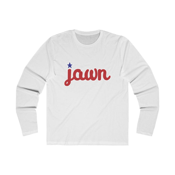 Philly JAWN (Long Sleeve) Long-sleeve Printify Solid White S