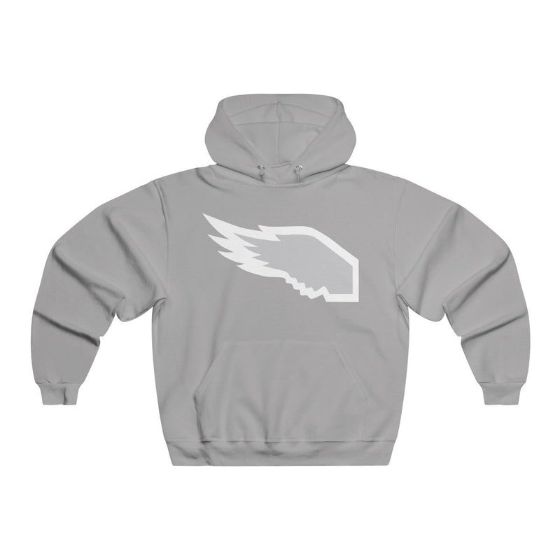 Eagle Wing Hoodie Hoodie Printify Athletic Heather S