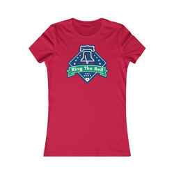 Ring the Bell (W) T-Shirt Printify Red S