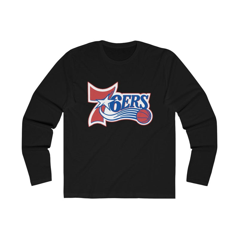 Retro 6ers (Long Sleeve) Long-sleeve Printify Solid Black S