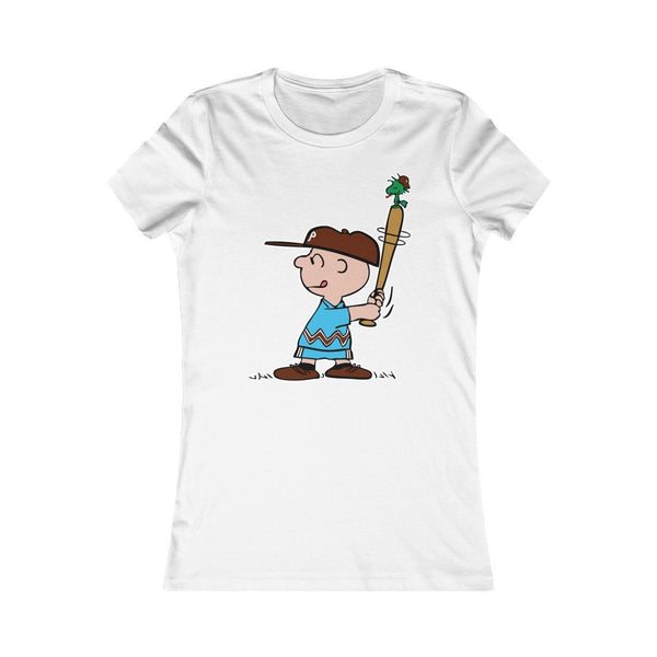 Phillies Peanuts (W) T-Shirt Printify White L