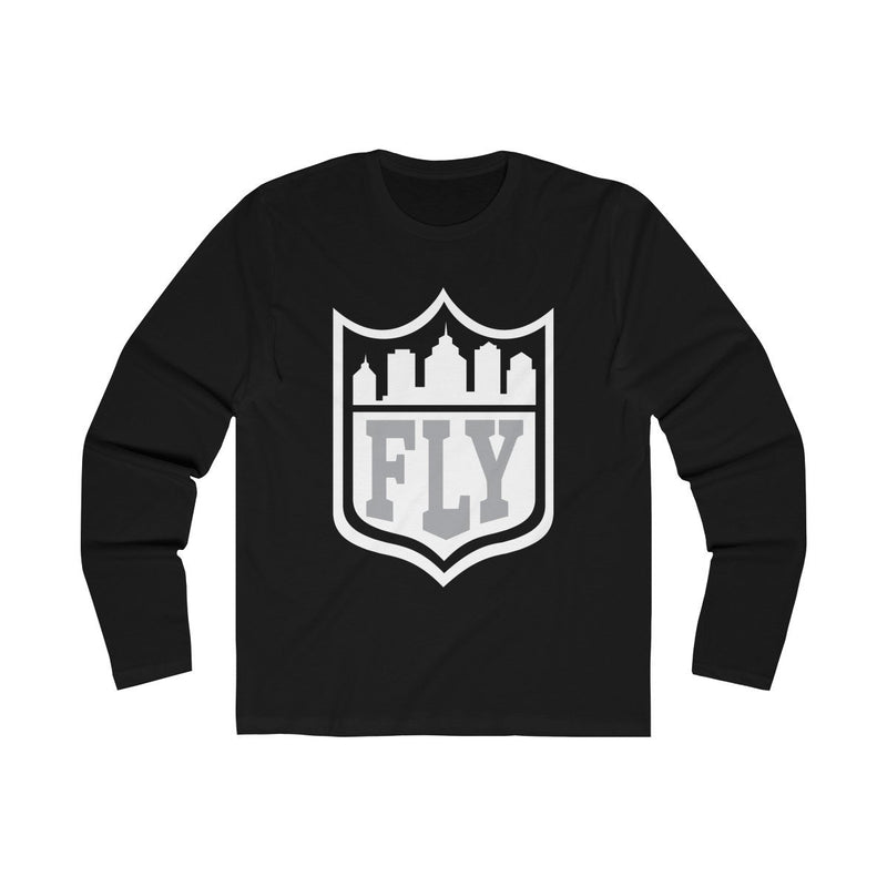 City FLY (Long Sleeve) Long-sleeve Printify Solid Black L