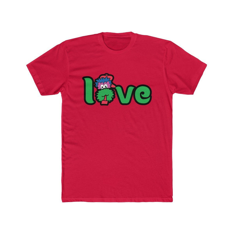 Love T-Shirt Printify Solid Red XS