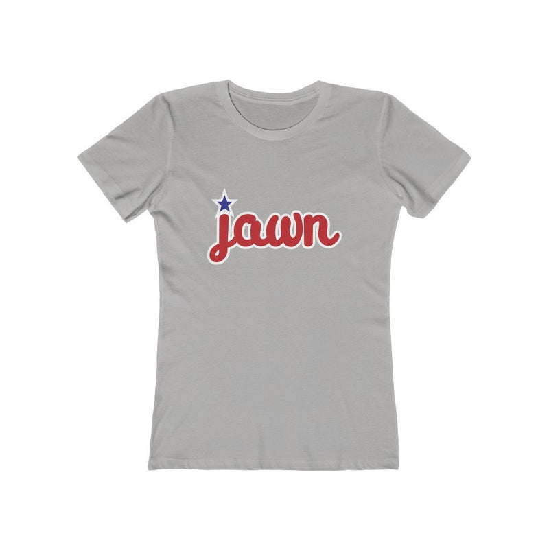 Philly Jawn (W) T-Shirt Printify Solid Heather Grey L