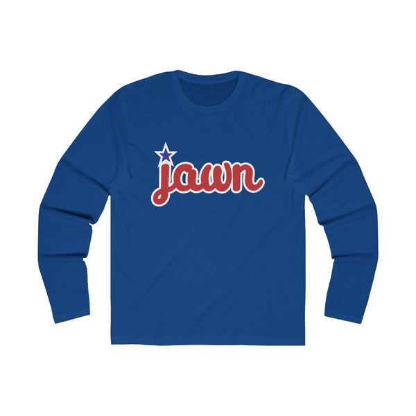 Philly JAWN (Long Sleeve) Long-sleeve Printify Solid Royal L
