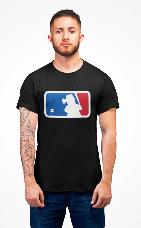 Major League Phanatic T-Shirt Printify Solid Black L