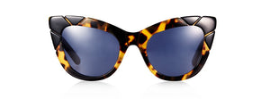 Puss & Boots Black/Tort Cat Eye Sunglasses